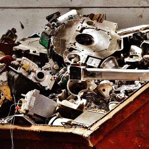 London recycling scrap metal